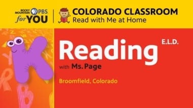 Reading ELD - Kindergarden