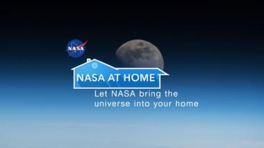 Nasa at Home logo
