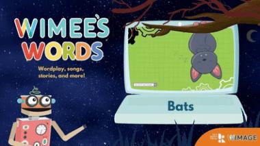 Wimee's Words Bats Episode graphic